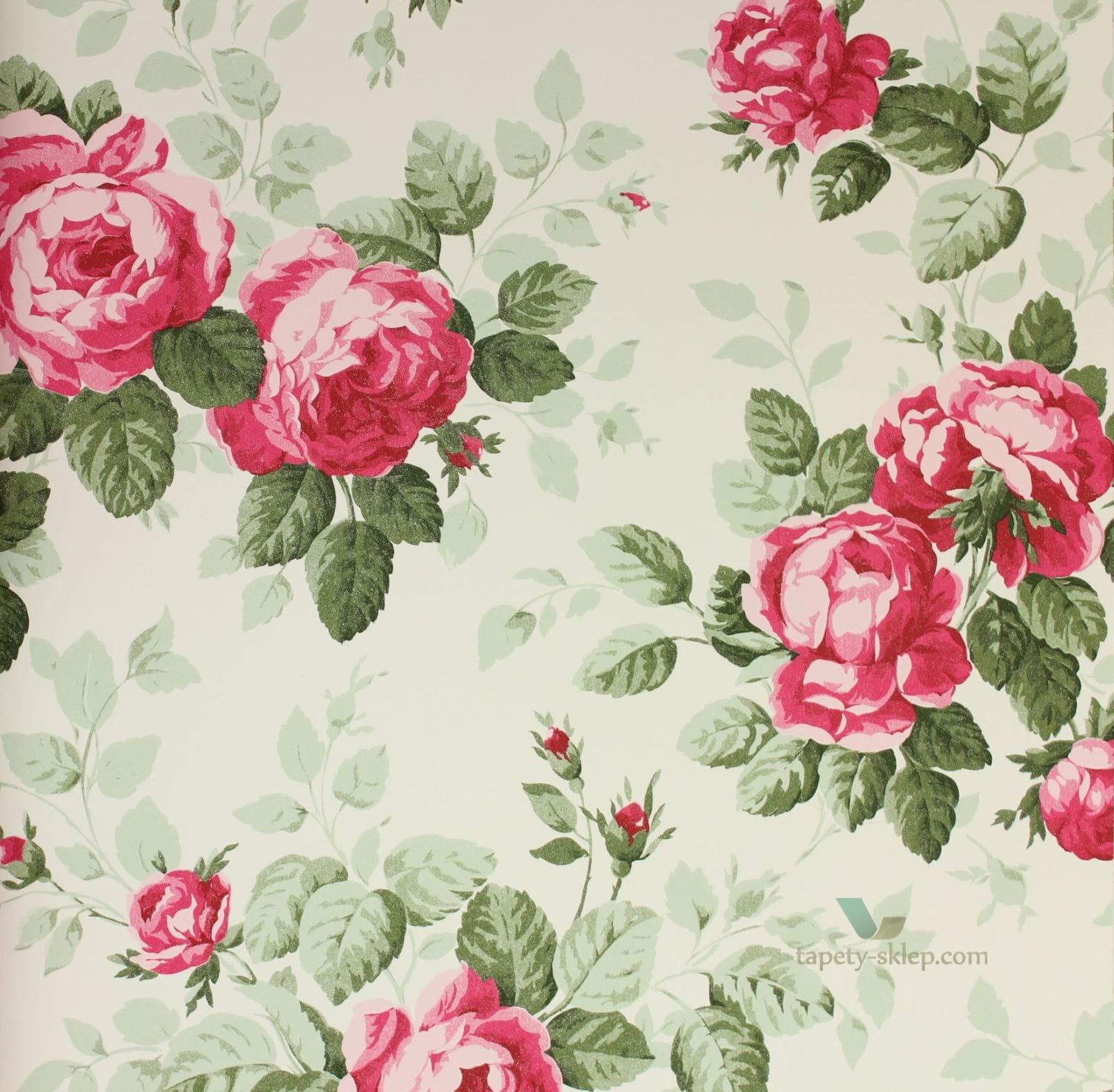 Tapeta w kwiaty Igone Bloomingdale 326138  Bloomingdale