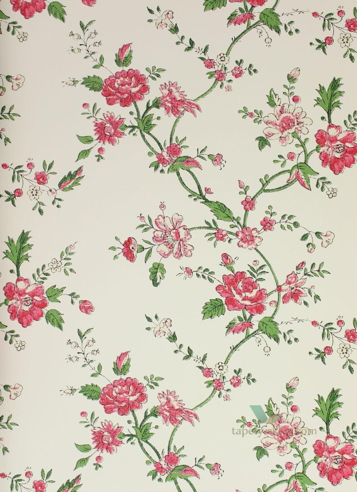 Tapeta w kwiaty Igone Bloomingdale 326128  Bloomingdale