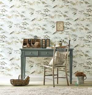 Tapeta Sanderson 216493 Estuary Birds