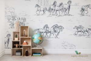 Fototapeta Rebel Walls R15591 Horse Herd