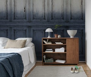 Fototapeta Rebel Walls R15602 Parisian Panels Dip Dye Blue