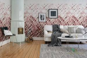 Fototapeta Rebel Walls R12893 Dream Weaver Burgundy