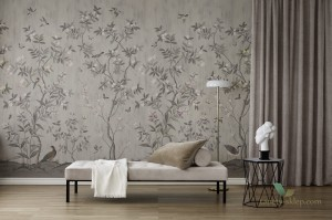 Tapeta Rebel Walls R16743 Chinoiserie Chic Powder Beige