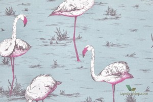 Tkanina Cole&Son Flamingos F111/3010LU The Contemporary Collection