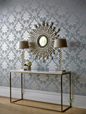 Tapeta 1838 Wallcoverings 1601-106-03 Hampton Rosemore