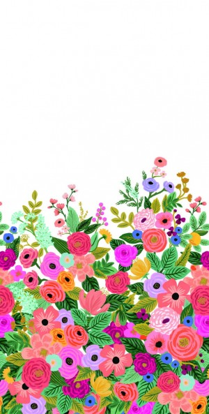 Mural York Wallcoverings RI5190M Garden Party Mural Rifle Paper Co.