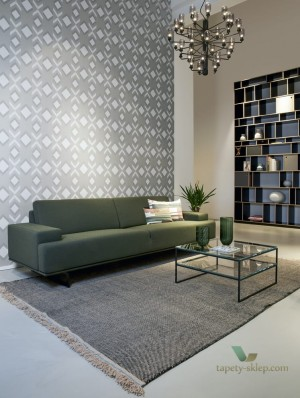 Tapeta Hooked On Walls Helix 29033 Tinted Tiles