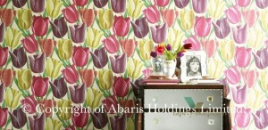DVIWEA106 Early Tulips Vintage Sanderson