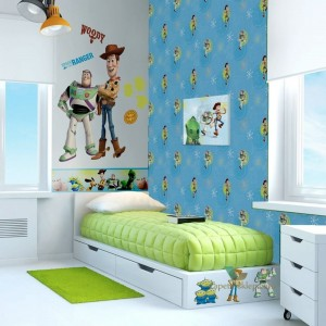 Tapeta DF02497 Toys Story Kids At Home