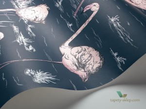 Tapeta Cole & Son Icons 112/11041 Flamingo