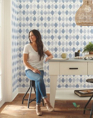 Tapeta York ME1567 Magnolia Home Joanna Gaines