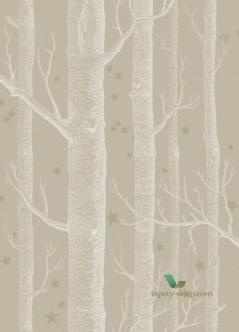 Tapeta Cole & Son 103/11047 Woods & Stars Whimsical