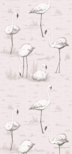 Tapeta Cole & Son Contemporary Restyled Flamingos 95/8046