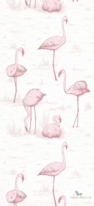 Tapeta Cole & Son Contemporary Restyled Flamingos 95/8045