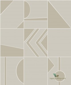 Tapeta Hooked On Walls Groove 29044 Tinted Tiles