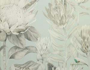 Tapeta Sanderson 216645 King Protea The Glasshouse