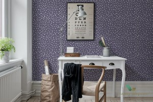 Fototapeta Rebel Walls R15754 Rebel Dot Violet