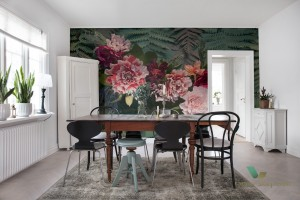 Fototapeta Rebel Walls R15802 Unfading Flowers Colossal