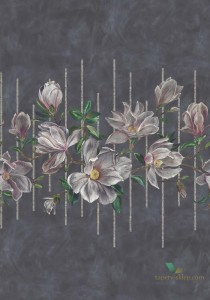 Mural Osborne & Little W7338-01 Magnolia Frieze Folium
