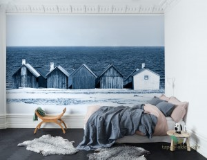 Fototapeta Rebel Walls R13691 Boathouse Blues