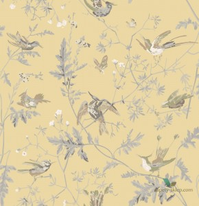 Tkanina Jedwab Cole&Son Hummingbirds F111/1001 The Contemporary Collection