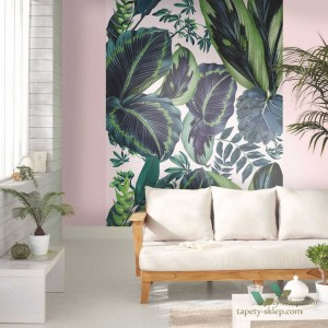 Mural Caselio 100197812 The Pink Jungle Beauty Full Image