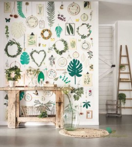 Mural Caselio 100294537 La Vie En Green Beauty Full Image