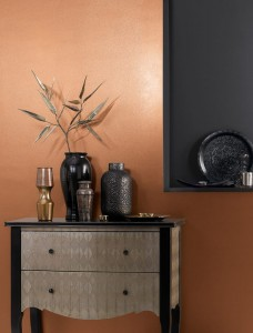 Farba miedziana CROWN FASHION WALL METALLIC Copper 1.25L