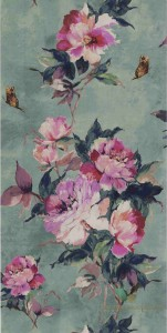 Tapeta 1838 Wallcoverings 1703-108-05 Madama Butterfly Camellia