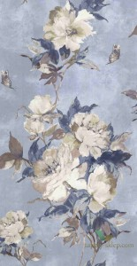 Tapeta 1838 Wallcoverings 1703-108-04 Madama Butterfly Camellia