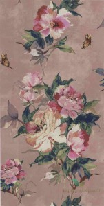 Tapeta 1838 Wallcoverings 1703-108-03 Madama Butterfly Camellia