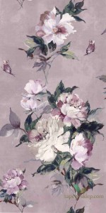 Tapeta 1838 Wallcoverings 1703-108-02 Madama Butterfly Camellia
