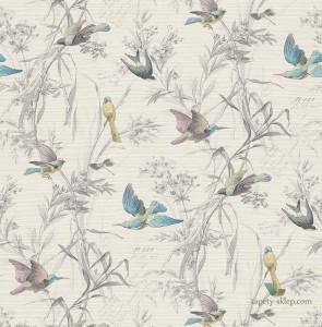 Tapeta KT Exclusive FJ40910 Birds of Paradise Sanctuary