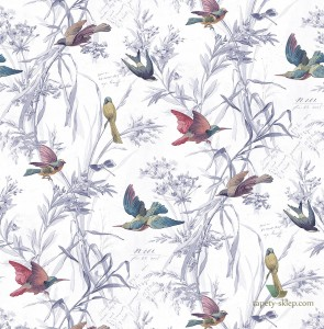 Tapeta KT Exclusive FJ40911 Birds of Paradise Sanctuary