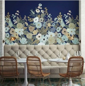 Mural York Wallcoverings RI5191M Garden Party Mural Rifle Paper Co.