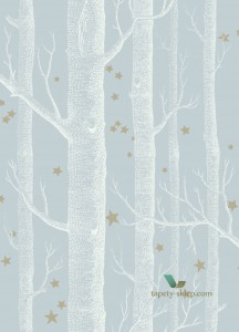Tapeta Cole & Son 103/11051 Woods & Stars Whimsical