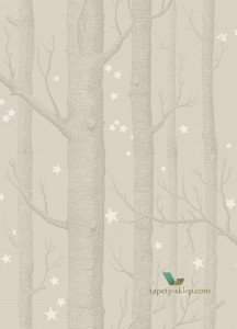 Tapeta Cole & Son 103/11048 Woods & Stars Whimsical