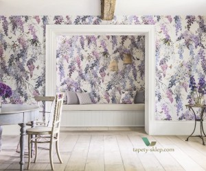 Mural Wisteria Falls Sanderson 216296 Panel A Waterperry