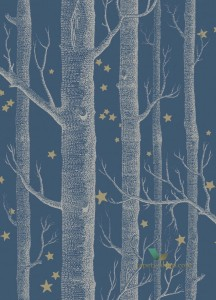 Tapeta Cole & Son 103/11052 Woods & Stars Whimsical
