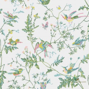 Tapeta Cole & Son Icons 112/4015 Hummingbirds