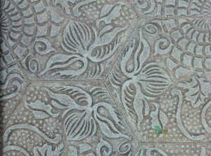 Tapeta 3000023 TILES Dragon Flower Coordonne