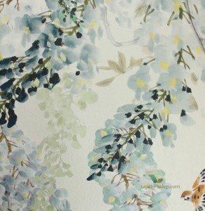 Mural Wisteria Falls Sanderson 216298 Panel A Waterperry