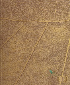 Panel Texam MACRO-001 Leaves Gold