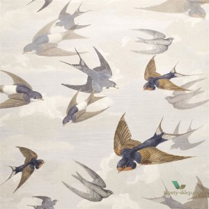 Tapeta John Derian PJD6003/04 Picture Book Chimney Swallows