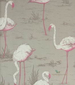 Tapeta Cole & Son 66/6042 Flamingos The Contemporary Selection