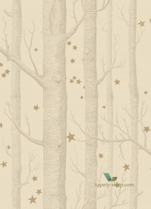 Tapeta Cole & Son 103/11049 Woods & Stars Whimsical