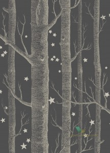 Tapeta Cole & Son 103/11053 Woods & Stars Whimsical