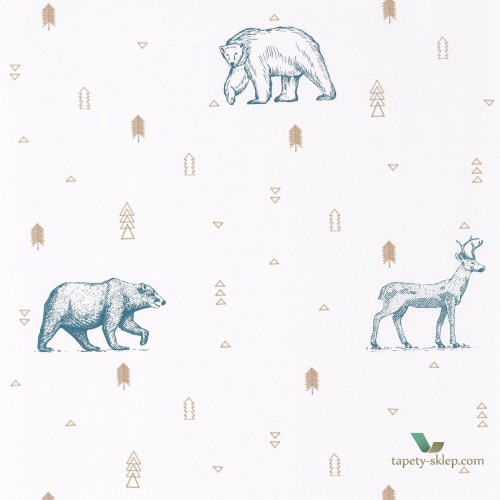 Tapeta Caselio Grizzly Bears OUP101986009 Our Planet