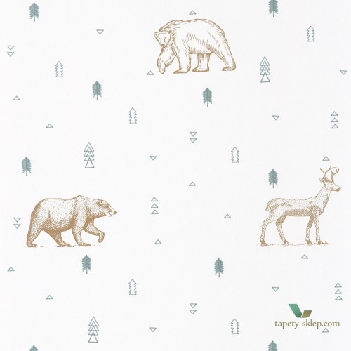Tapeta Caselio Grizzly Bears OUP101987112 Our Planet