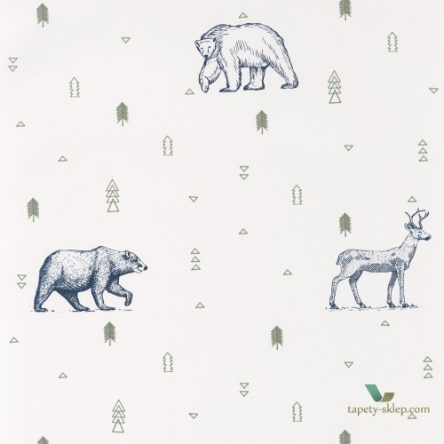 Tapeta Caselio Grizzly Bears OUP101987403 Our Planet